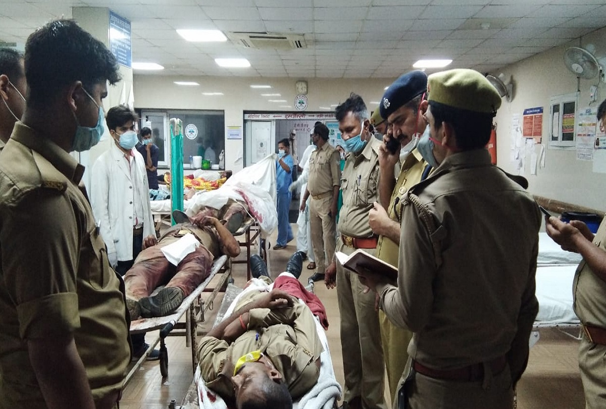 Kanpur History Sheeter Vikas Dubey Fired On Police Team Eight ...