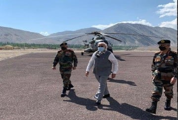 PM Modi in Ladakh