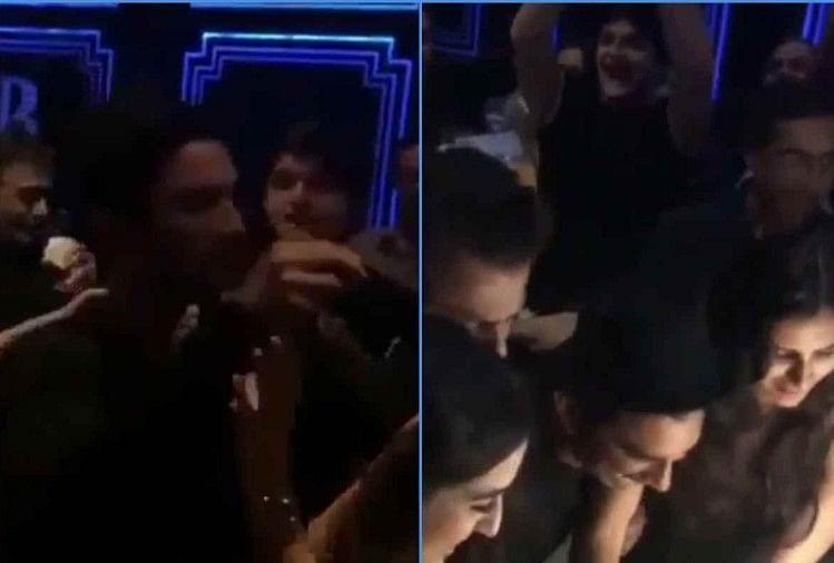 Sushant Singh Rajput Throwback Video Wrap Up Party Kedarnath With Sara Ali  Khan - सारा के साथ सुशांत का थ्रोबैक वीडियो आया सामने, 'केदारनाथ' के आखिरी  दिन जमकर की थी पार्टी -