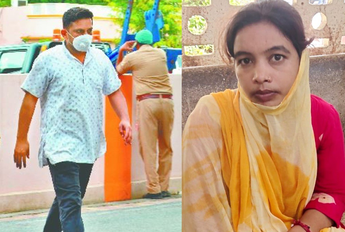 आरोपी राहुल आनंद और गिरोह की सरगना नीलम