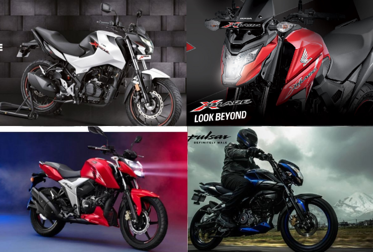 Hero Xtreme 160R BS6 Vs Bajaj Pulsar NS160 BS6 Vs TVS Apache RTR 160 4V BS6 Vs Honda X-Blade BS6