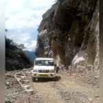 Badrinath highway open after six days in tota ghati, but threat of landslide remains intact