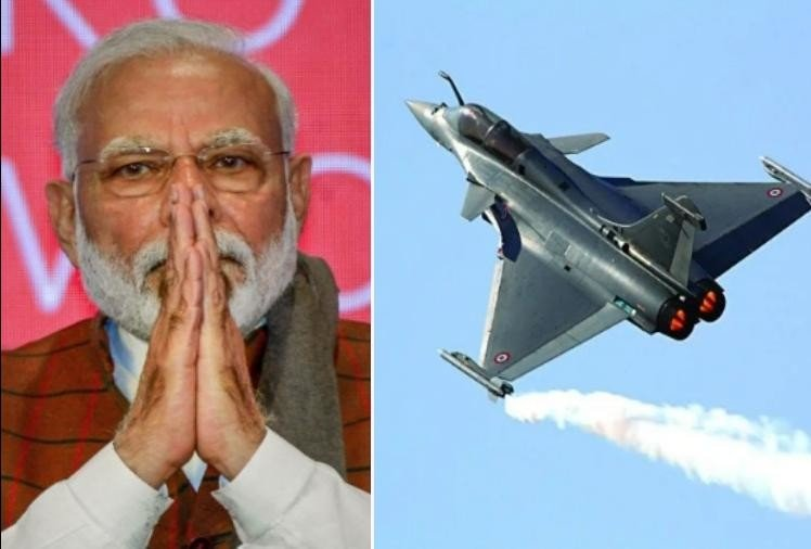 Formal induction ceremony of Rafale fighter jets can held after Independence Day