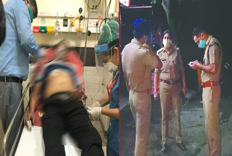 Firing on Liquor shop workers in Dehradun for loot