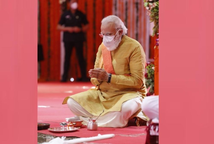 PM Modi looked like a yajman in Ayodhya yatra.