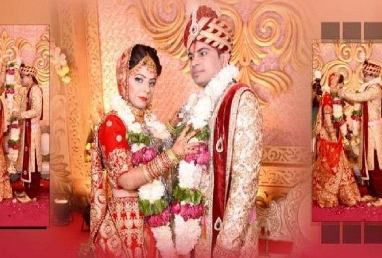 अखिलेश और मेघा की शादी की तस्वीर
