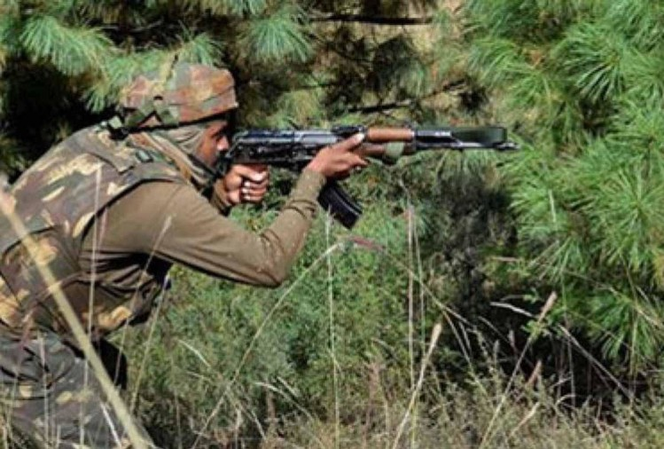 सुरक्षाबलों ने चलाया तलाशी अभियान, दो-तीन आतंकियों के छिपे होने की आशंका