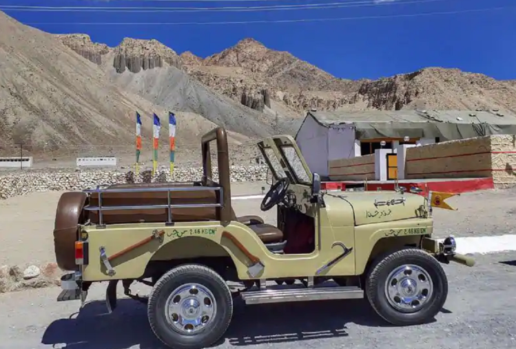 Willys Jeep 'Jarpal Queen' captured from Pakistan in 1971 war