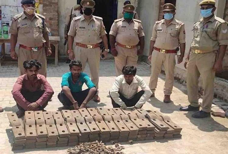 भाजपा नेता के भाई समेत तीन गिरफ्तार