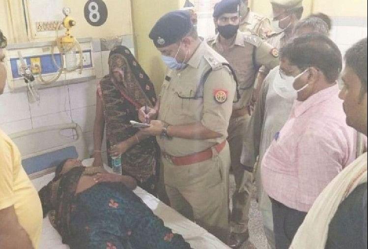 एसएसपी ने अस्पताल में जाना घायलों का हाल