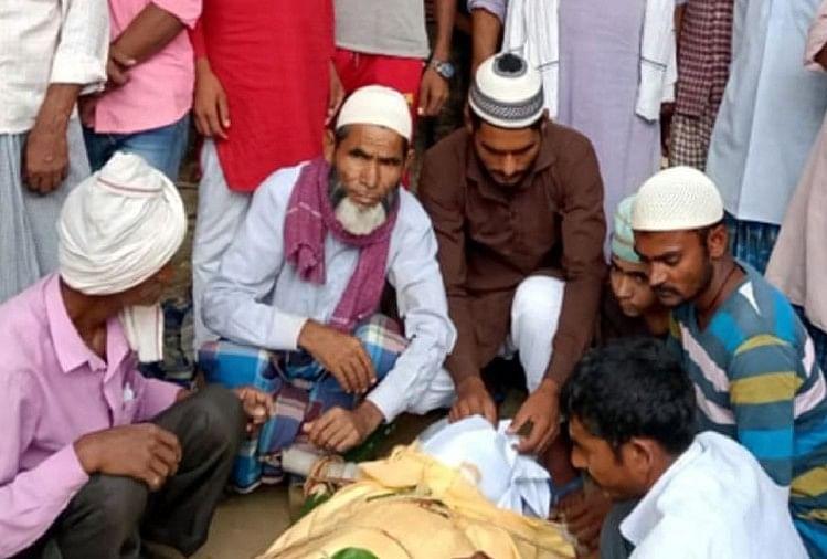 मुस्लिम समाज के लोगों ने कराया हरिओम का अंतिम संस्कार