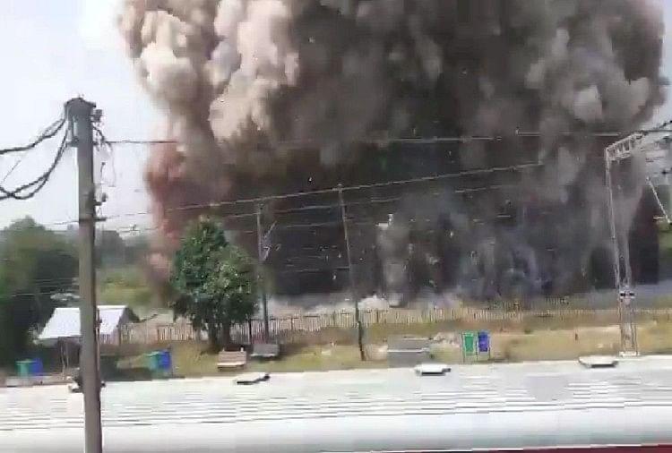 केमिकल कंपनी में हुआ धमाका (फाइल फोटो)