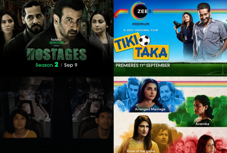 Top web series & movies in september from OTT platforms