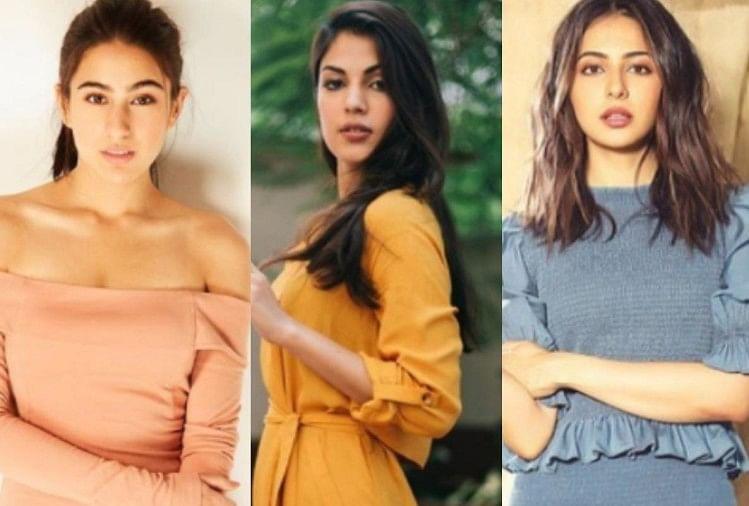 Rhea Chakraborty Reveals Sara Ali Khan Rakul Preet Singh And These Celebrities Drug Case As Per Media Reports – ड्रग्स कनेक्शन में रिया चक्रवर्ती ने 25 नामों का किया खुलासा, सारा अली खान, रकुल प्रीत सहित ये सितारे शामिल!