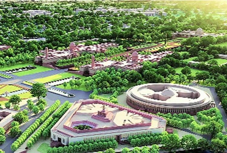 संसद भवन की आधारशिला, कितनी नई हो जाएगी नई दिल्ली?