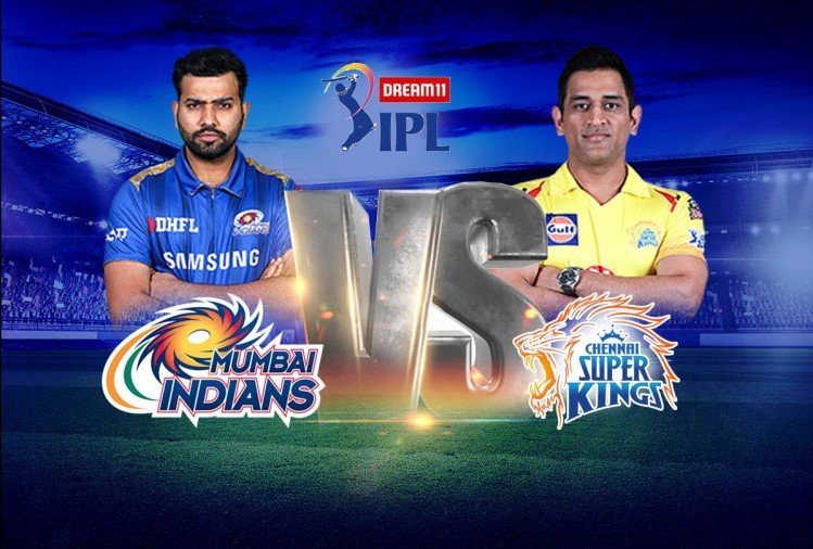 IPL 2020 Live Score, MI vs CSK Live Cricket Score Match Updates News in Hindi