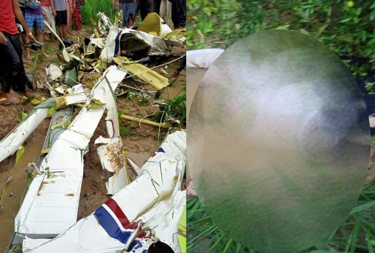 Aircraft which was crashed in azamgarh took off from Raebareli.
