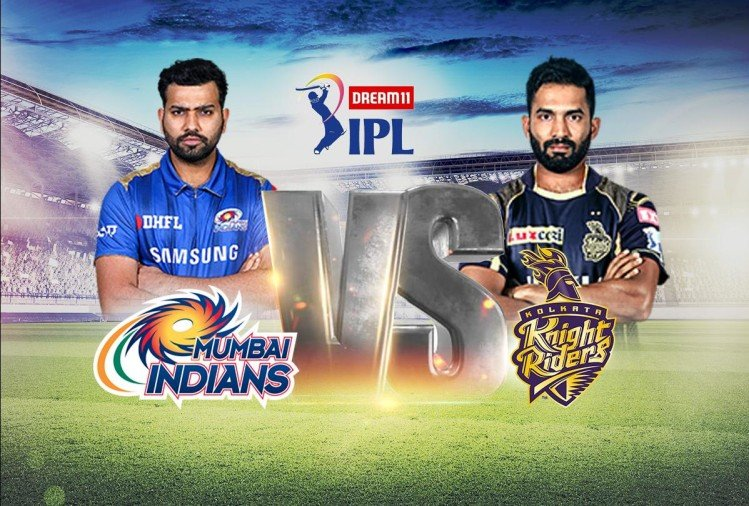 IPL 2020, KKR vs MI Live Cricket Score Match News Updates in Hindi