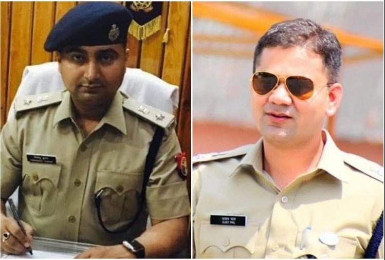 आईपीएस अधिकारी हिमांशु कुमार और अजय पाल शर्मा