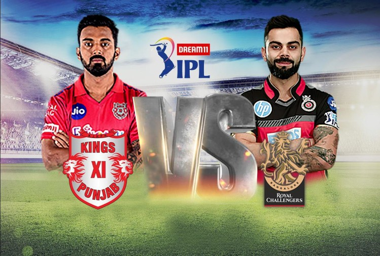 KXIP vs RCB Live Cricket Score IPL 2020 Today Match Scorecard News Updates