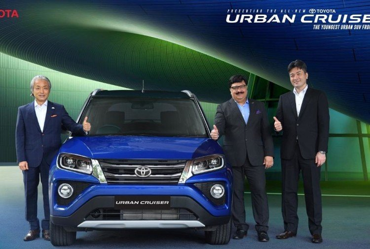 Toyota Urban Cruiser Launch