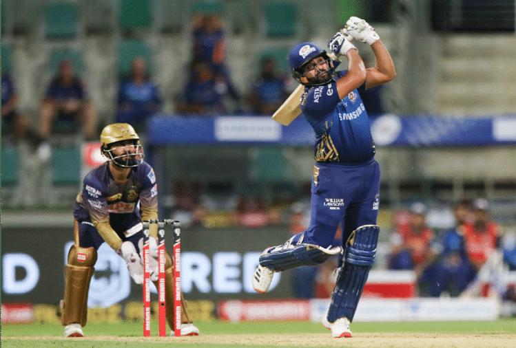 Ipl 2020: Mi Vs Kkr: Match Report: Mumbai Indians Defeated Kolkata Knight Riders - Ipl 2020: मुंबई की यूएई में पहली जीत, रोहित की कप्तानी पारी से इंडियंस ने Kkr को 49