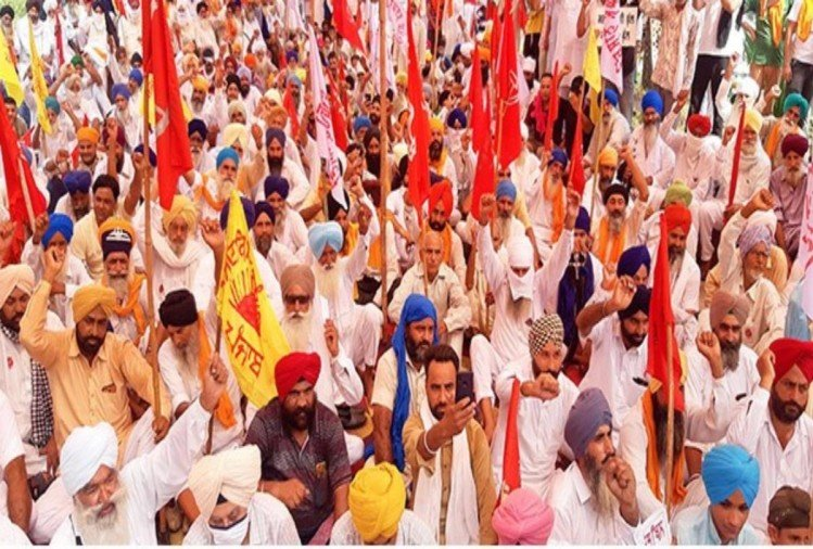 Bharat Bandh Live Updates News in Hindi farm bills farmers union msp corporates parliament delhi punjab haryana up maharashtra