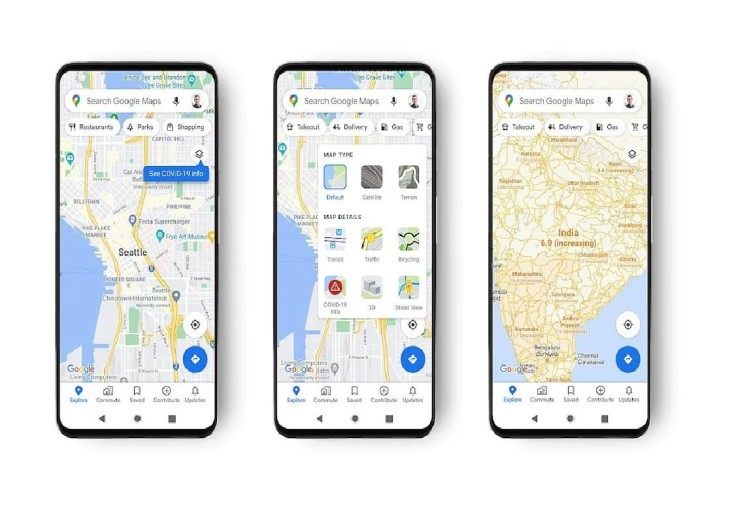 Google Maps Gets New Layer To Show Covid-19 Hotspots All Over The World – Covid-19 Hotspots के बारे में अब गूगल मैप पर मिलेगी जानकारी