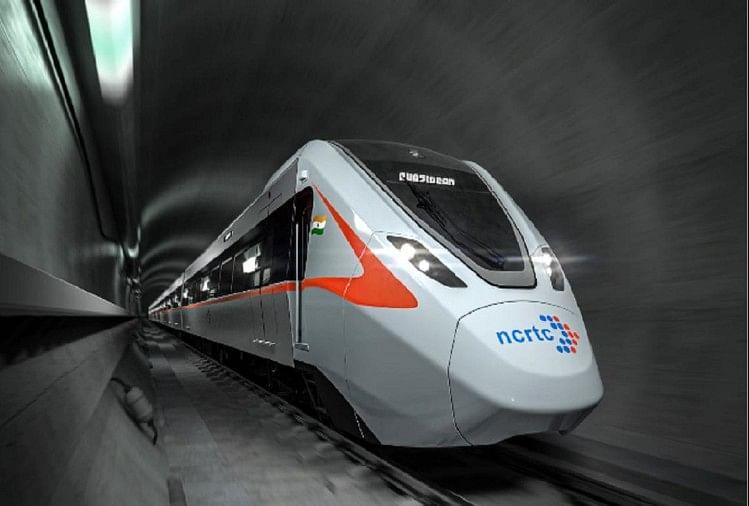 गाजियाबाद में दौड़ेगी रैपिड ट्रेन, फर्स्ट लुक जारी