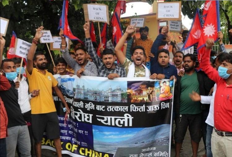 नेपाल में चीन के खिलाफ प्रदर्शन, छात्रों ने की विदेश मंत्री से इस्तीफे की मांग