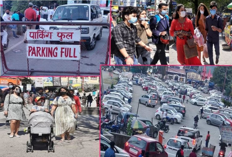 Unlock-4 In Uttarakhand: Tourist Huge Crowd in Nainital, Advance booking in hotels for Weekend, Photos