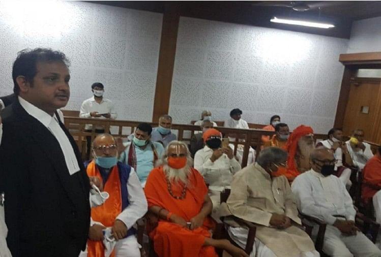 ayodhya babri masjid demolition verdict case live updates news in hindi Babri Masjid Demolition Case Babri Masjid demolition case Special CBI court verdict lal krishna advani murli manohar joshi Security tighet in ayodhya