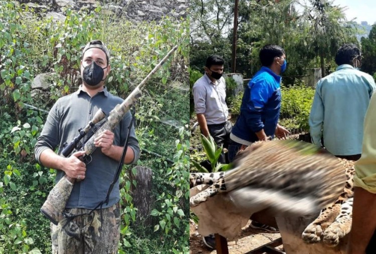 Men Eater Leopard Died by Meerut Shooter Gun Fire in pithoragarh uttarakhand