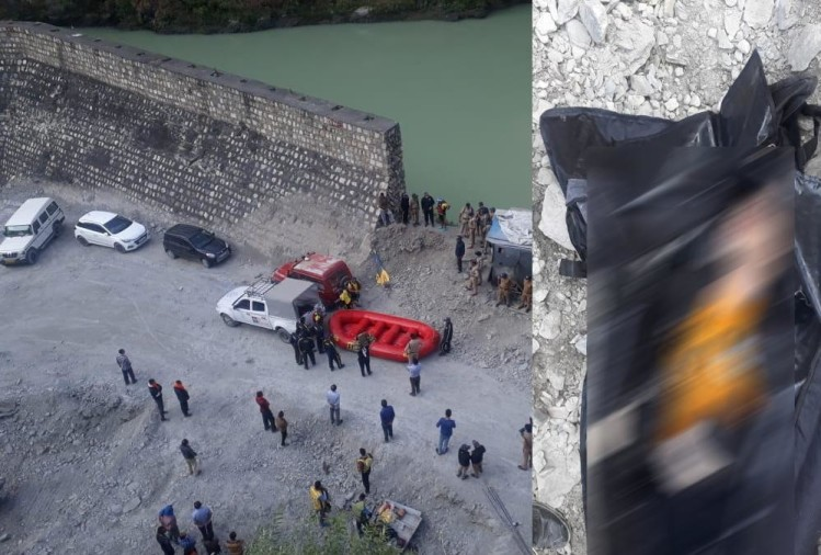 uttarakhand news: car fell in to tehri lake, one dead body found, three missing, ground zero photos