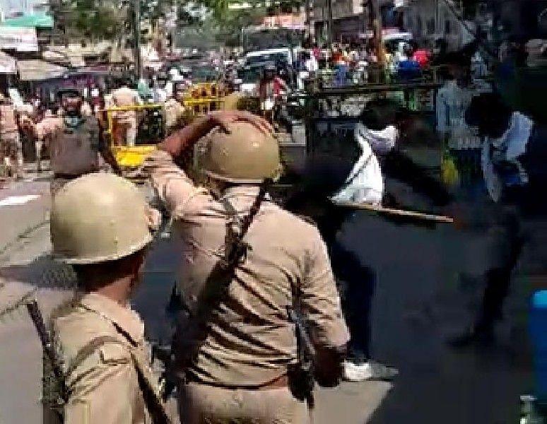 जिले में तैनात पुलिसकर्मी।