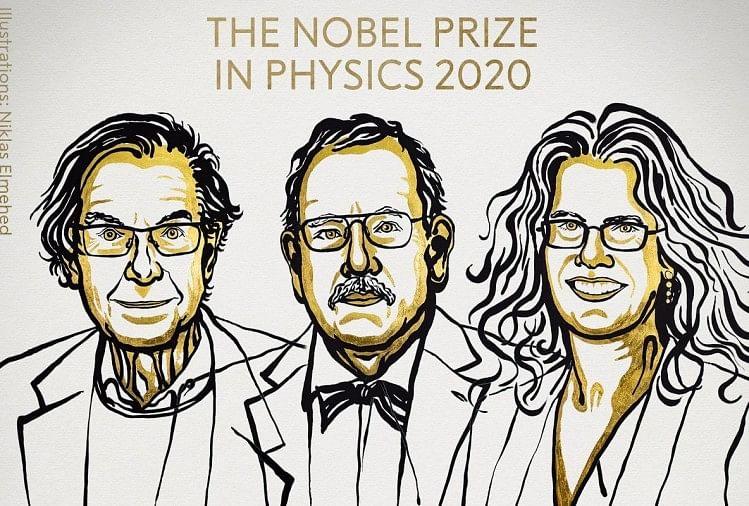Nobel Prize 2020 In Physics Jointly Awarded To Roger Penrose, Reinhard  Genzel And Andrea Ghez - Nobel Prize 2020: रोजर पेनरोज, रेनहर्ड गेंजेल और एंड्रिया  घेज को फिजिक्स का नोबेल - Amar