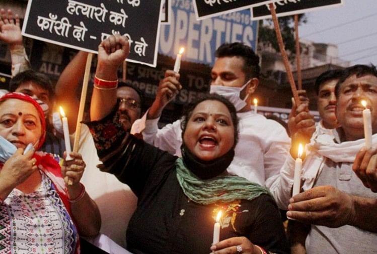 योगी सरकार ने सर्वोच्च न्यायालय योगी सरकार ने SC को बताया क्यों जलाया रात में पीड़िता का शव