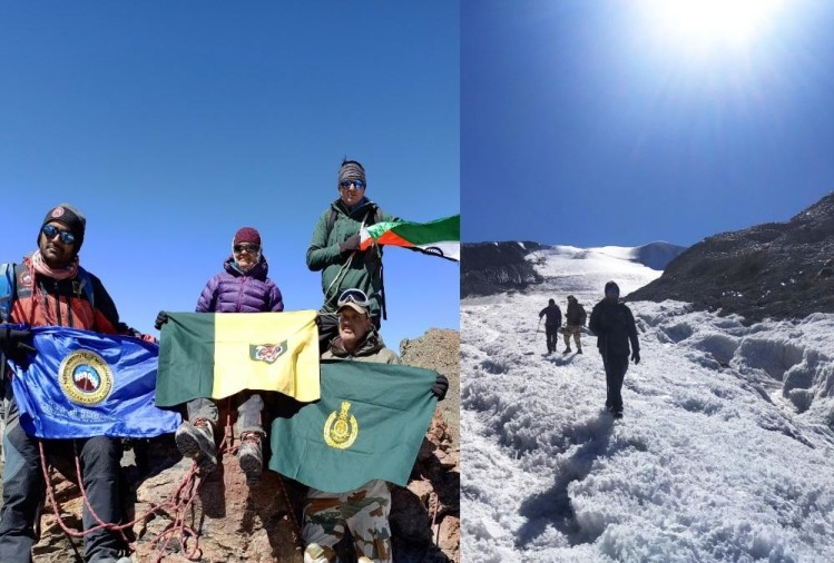 Nim and ITBP Soldiers Make New Record after Climbed Six Mountain on India China Border, Photos