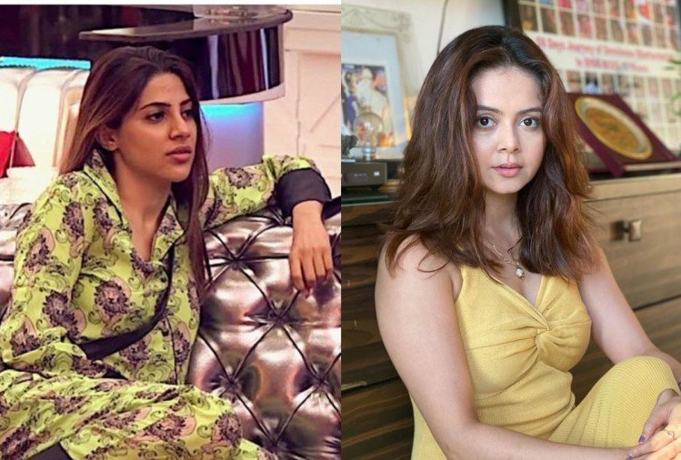 Bigg Boss 2021: In Bigg Boss 14, Nikki Tamboli was seen lashing out at Devoleena Bhattacharjee as she used #MeToo card.