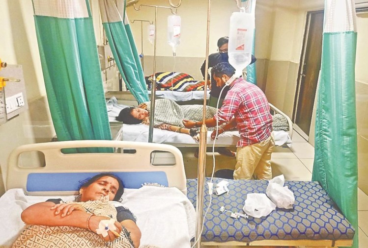 Roorkee Latest News:  More then 100 people Admitted in Hospital after eating Kuttu flour, Photos
