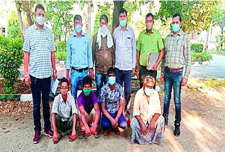 गांजा एंबुलेंस में खुद हवाई जहाज से दिल्ली पहुंचता था तस्कर, पुलिस ने दबोच लिया गैंग