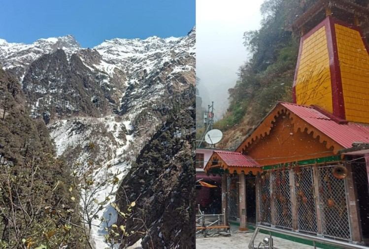 Weather Forecast Today Update in Uttarakhand: Snowfall in kedarnath and yamunotri dham, Cold Weather Increases, Photos