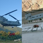 Uttarakhand kedarnath News: Chinook Helicopter Delivering Heavy Machines in kedarnath