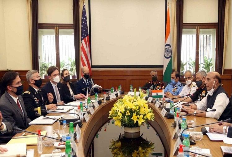 भारत-अमेरिका के मंत्रियों के बीच टू प्लस टू वार्ता आज,अहम समझौतों पर लगेगीमुहर