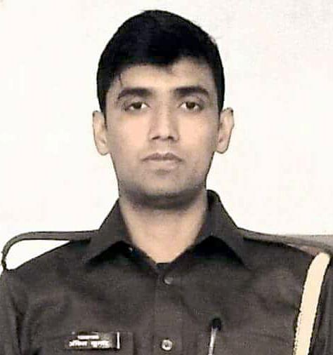 आत्महत्या करने वाले सिपाही अंकित यादव का फाइल फोटो।