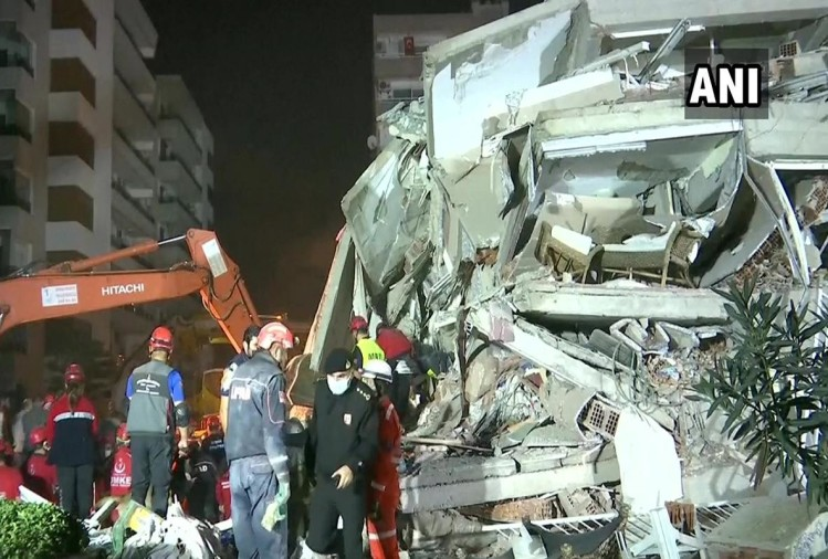 26 dead, buildings collapse as major earthquake hits Turkey, Greece