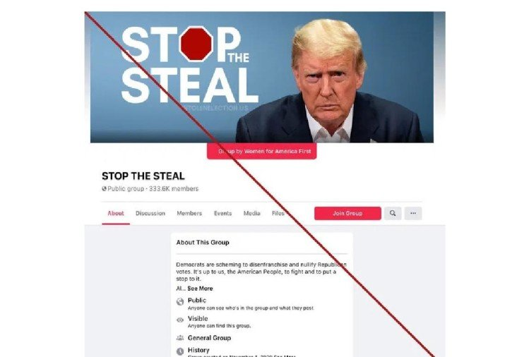 Facebook bans Donald Trump supporter group 'Stop the Steel'