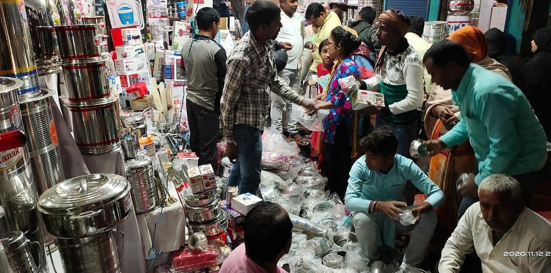 Dhanteras: Laxmi was kind to the market