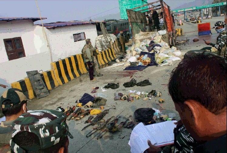 आतंकियों को सुरक्षा बलों ने नहीं दिया संभलने का मौका  जवान तुरंत आए हरकत में