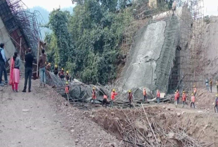 Badrinath Highway under construction Bridge Collapse News: Incident Real Reason Revealed